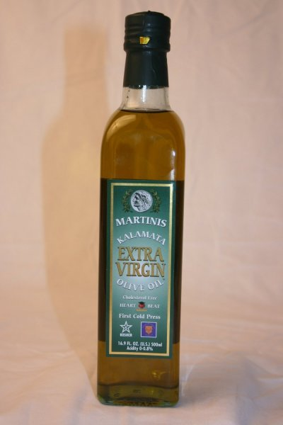olive oil extra virgin, kalamata Martinis Nutrition info