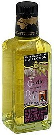 olive oil garlic flavored International Collection Nutrition info