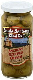 olives anchovy stuffed Santa Barbara Nutrition info
