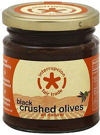 olives crushed, black Interrupcion Fair Trade Nutrition info