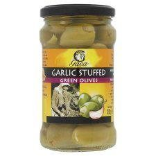 olives garlic stuffed green Gaea Nutrition info
