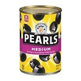olives medium pitted ripe Black Pearls Nutrition info