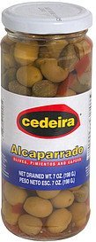 olives, pimientos and capers Cedeira Nutrition info