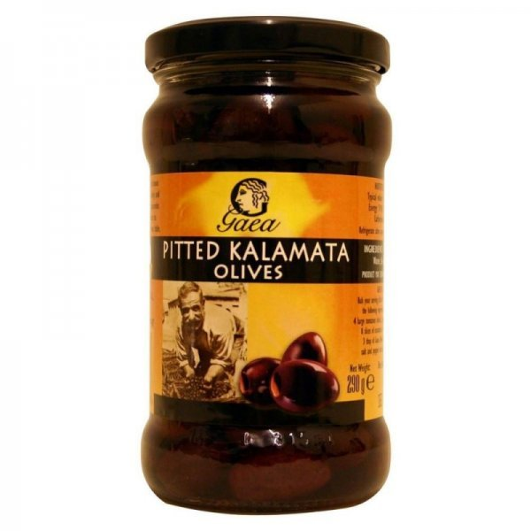 olives pitted kalamata Gaea Nutrition info
