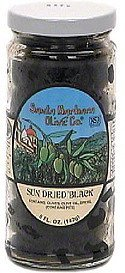 olives, sun dried black Santa Barbara Olive Co. Nutrition info