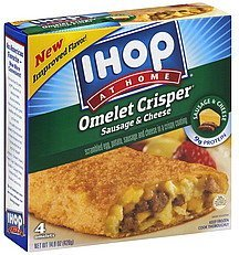 omelet crisper sausage & cheese IHOP Nutrition info