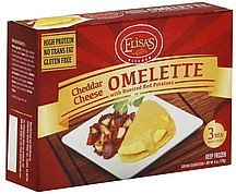 omelette cheddar cheese Elisas Nutrition info