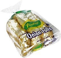 onion rolls enriched Fantini Nutrition info