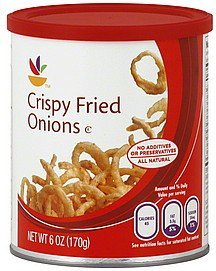 onions crispy fried Ahold Nutrition info