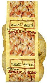 onions premium, sweet Mayan Sweets Nutrition info