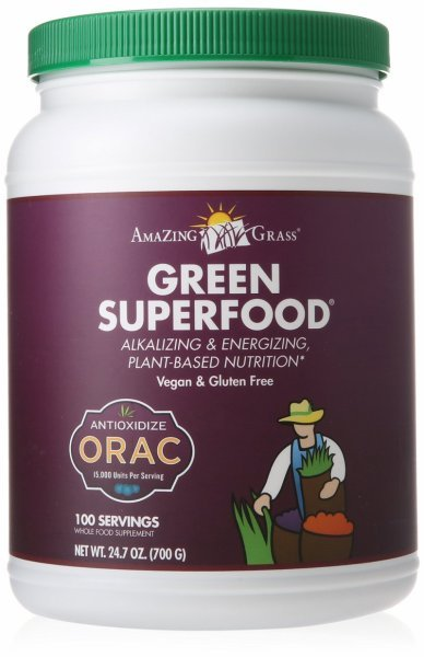 orac green superfood Amazing Grass Nutrition info