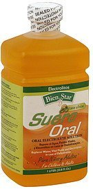 oral electrolyte solution for children & adults Bien Star Nutrition info