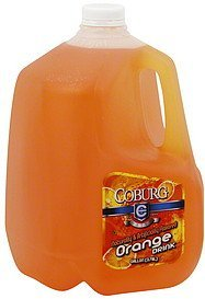 orange drink Coburg Nutrition info