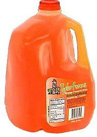 orange flavored drink Tyler Farms Nutrition info
