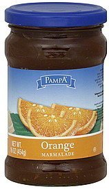 orange marmalade Pampa Nutrition info