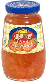 orange marmalade Sunberry Farms Nutrition info