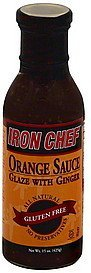 orange sauce glaze with ginger Iron Chef Nutrition info