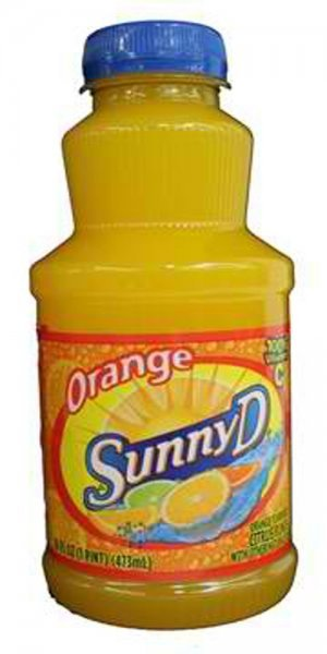 orange Sunny D Nutrition info