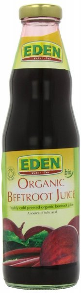 organic beetroot juice Eden Nutrition info