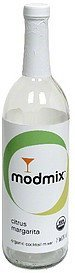 organic cocktail mixer citrus margarita Modmix Nutrition info