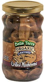 organic grilled mushrooms Bella Terra Nutrition info