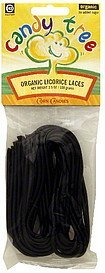 organic licorice laces Candy Tree Nutrition info