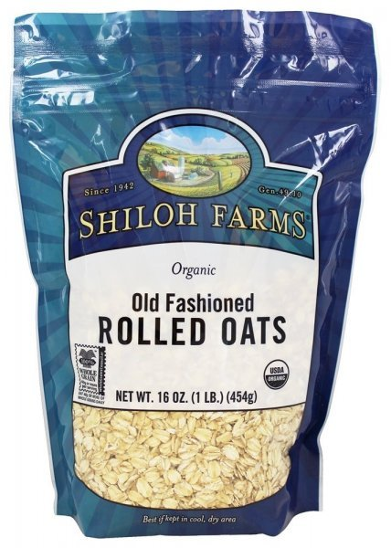 organic old fashioned rolled oats Shiloh Farms Nutrition info