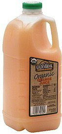 organic orange juice Goldenbrook Farms Nutrition info