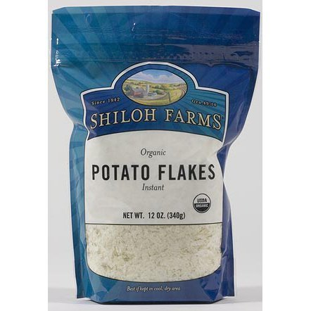 organic potato flakes instant Shiloh Farms Nutrition info