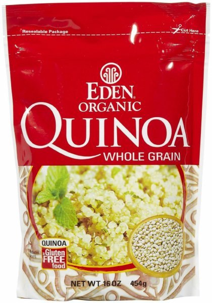 organic quinoa whole grain Eden Nutrition info