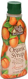 organic syrup apricot Santini Nutrition info