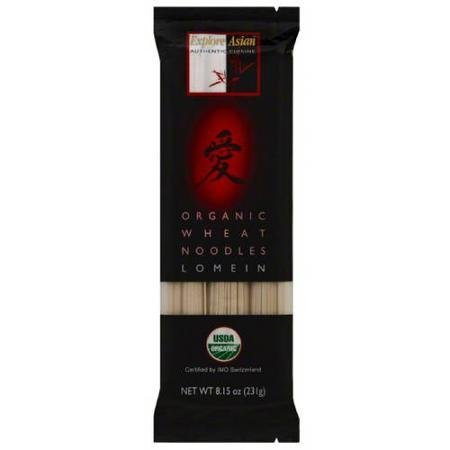 organic wheat noodles lomein EXPLORE ASIAN Nutrition info