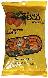oriental mix Arroyo Seco of California Nutrition info