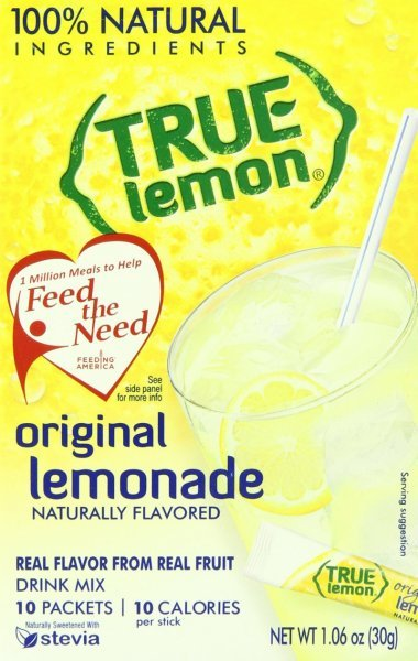 original lemonade True Lemon Nutrition info