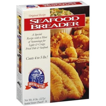 original recipe seafood breader House Autry Nutrition info