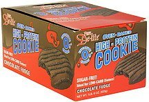 oven-baked high-protein cookie chocolate fudge Pure De-lite Nutrition info