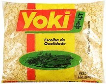 oven toasted corn flour Yoki Nutrition info