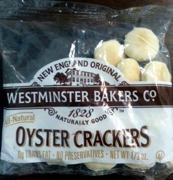 oyster crackers Westminster Bakers Co. Nutrition info