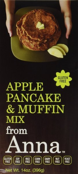 pancake & muffin mix apple Breads From Anna Nutrition info