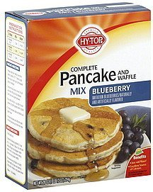 pancake and waffle mix blueberry Hy Tops Nutrition info