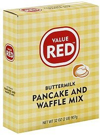 pancake and waffle mix buttermilk Value Red Nutrition info