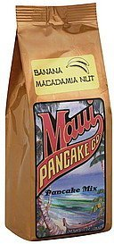 pancake mix banana macadamia nut Maui Pancake Co Nutrition info