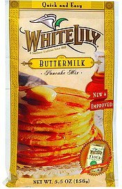 pancake mix buttermilk White Lily Nutrition info