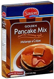 pancake mix golden Savion Nutrition info