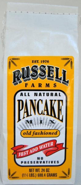 pancake mix old fashioned Russell Farms Nutrition info