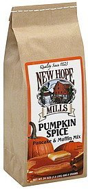 pancake & muffin mix pumpkin spice New Hope Mills Nutrition info