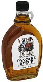 pancake syrup New Hope Mills Nutrition info