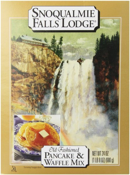 pancake waffle mix Snoqualmie Falls Lodge Nutrition info