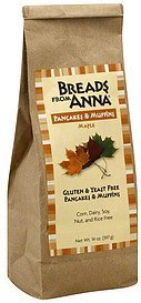 pancakes & muffins maple Breads From Anna Nutrition info