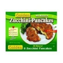 pancakes zucchini Golden Nutrition info